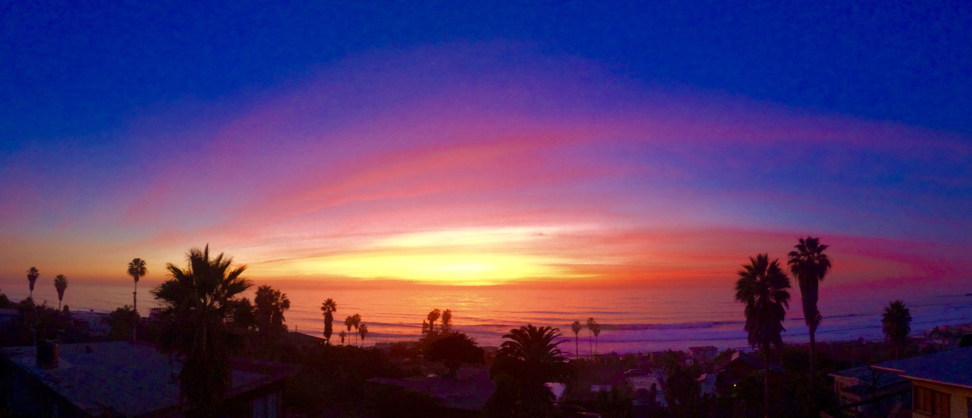 Sunset in Baja California Mexico